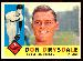 1960 Topps #475 Don Drysdale (Dodgers)