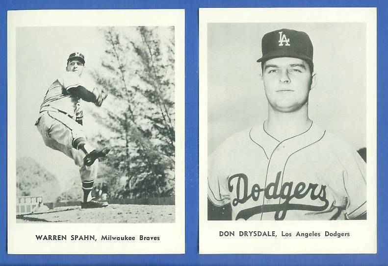 1960 Dodgers Jay Publishing #.1 Don Drysdale Baseball cards value