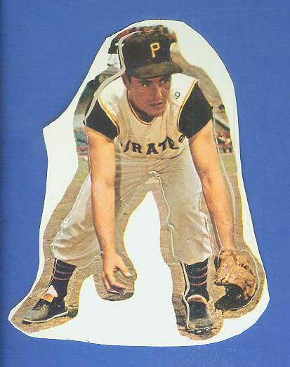 1960 Pirates Tag Ons 9 Bill Mazeroski