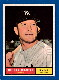 1961 Topps #300 Mickey Mantle [#a] (Yankees)