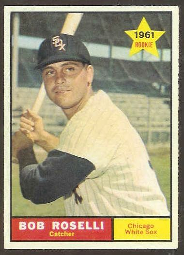 1961 Topps #529 Bob Roselli SCARCE HIGH # (White Sox) Baseball cards value