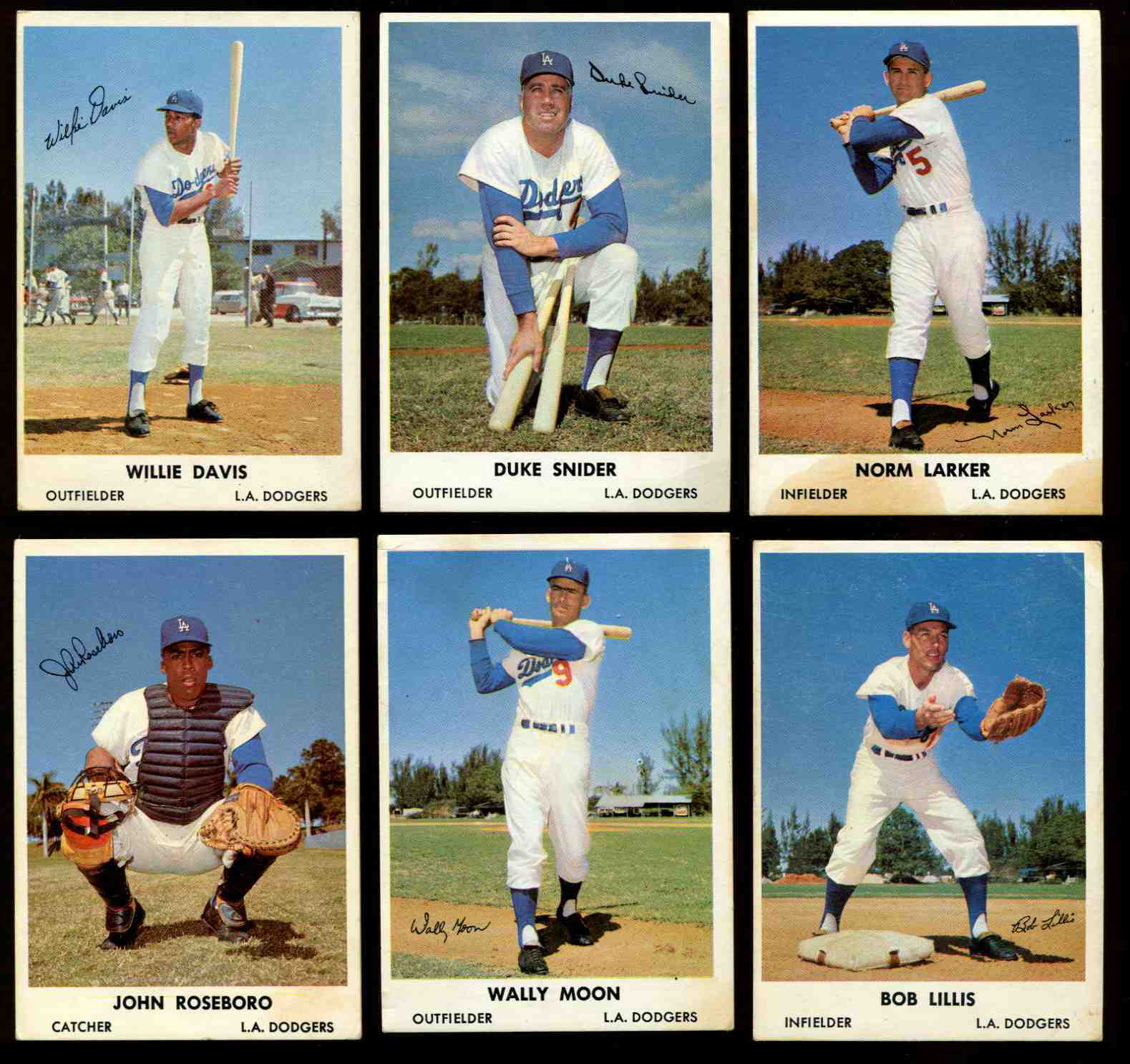 1961 Bell Brand Dodgers #.4 Duke Snider (Dodgers) Baseball cards value