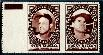 STAN MUSIAL/Rocky Nelson - 1961 Topps STAMP PANEL with TAB !