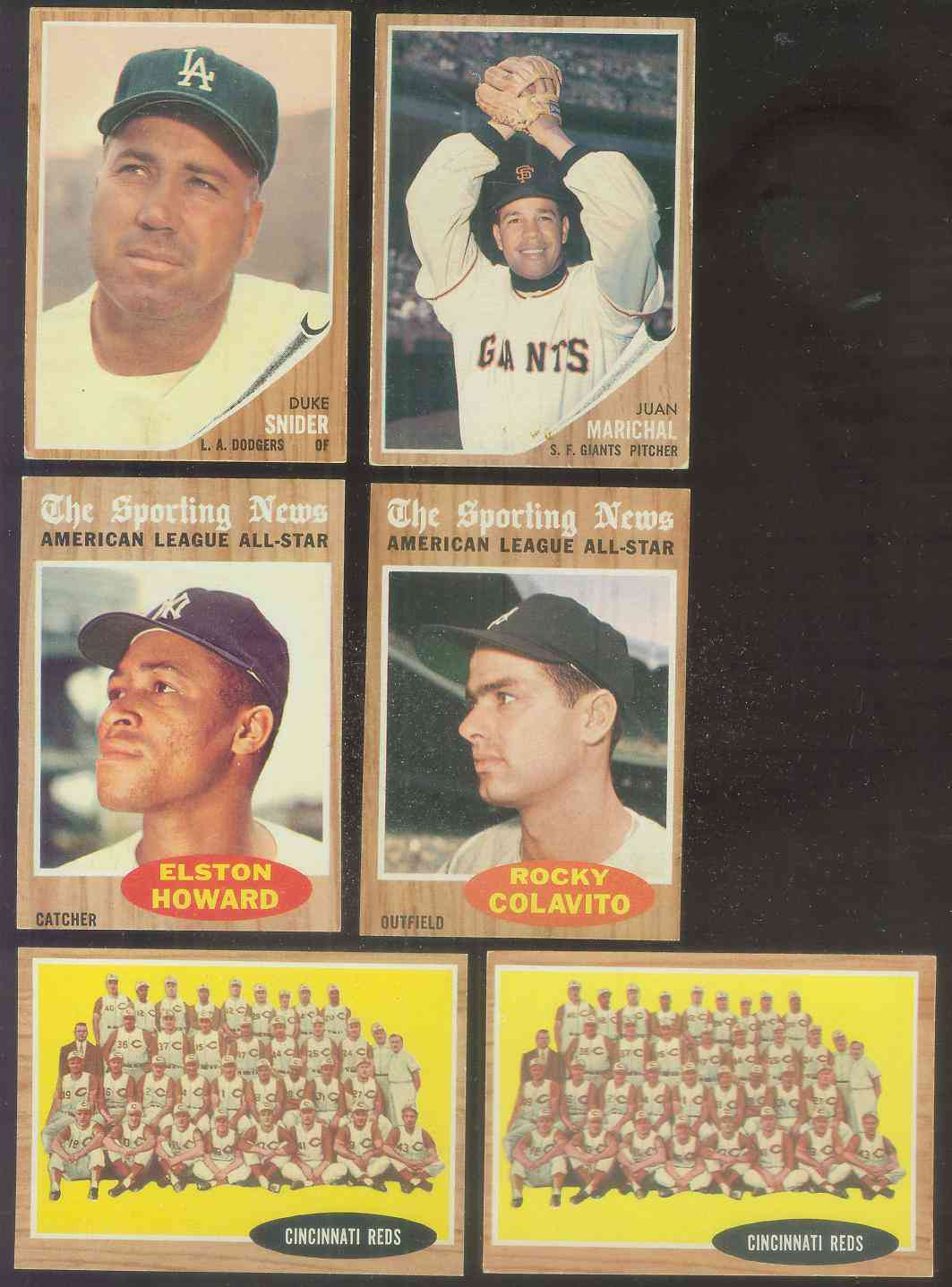 1962 Topps #465 Reds TEAM card [#b] Baseball cards value