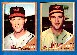 1962 Topps #134BA Billy Hoeft COMBO w/BOTH VARIATIONS !!! [#x] (Dodgers