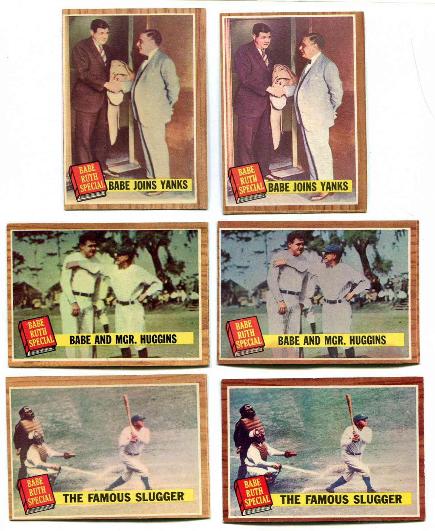1962 Topps #137 Babe Ruth Special #3 [#x] (Yankees) Baseball cards value