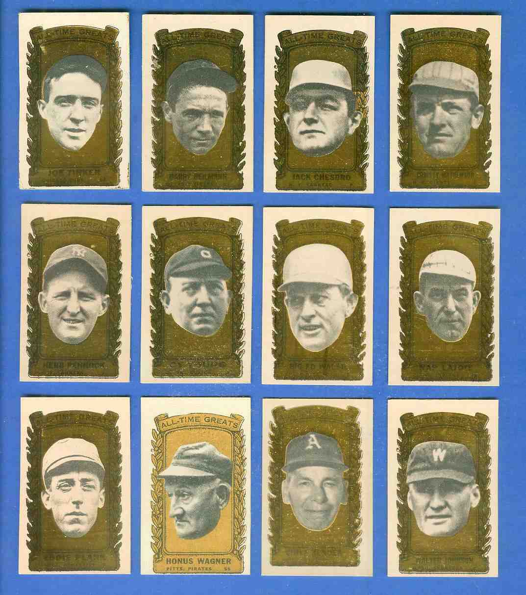 1963 Bazooka All-Time Greats #.3 Jack Chesbro Baseball cards value