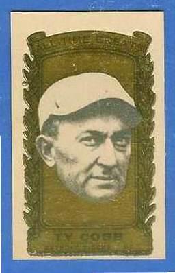 1963 Bazooka All-Time Greats #35 Ty Cobb Baseball cards value
