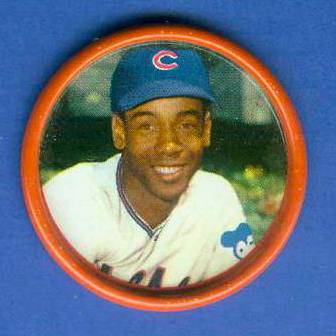 1963 Salada Coins #.17 Ernie Banks [#a] Baseball cards value