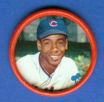 1963 Salada Coins #.17 Ernie Banks [#b] Baseball cards value