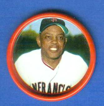 1963 Salada Coins #.22 Willie Mays [#a] (Giants) Baseball cards value