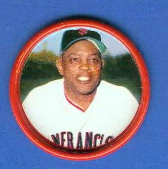 1963 Salada Coins #.22 Willie Mays [#b] (Giants) Baseball cards value