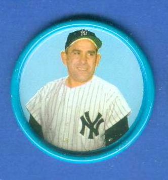 1963 Salada Coins #.62 Yogi Berra [#a] Baseball cards value