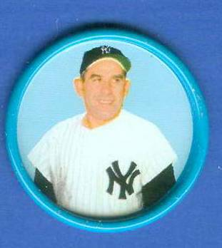 1963 Salada Coins #.62 Yogi Berra [#c] Baseball cards value