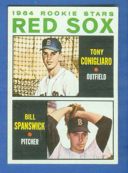 1964 Topps #287 Tony Conigliaro ROOKIE 'VAR:No blue line' [#asc] Baseball cards value