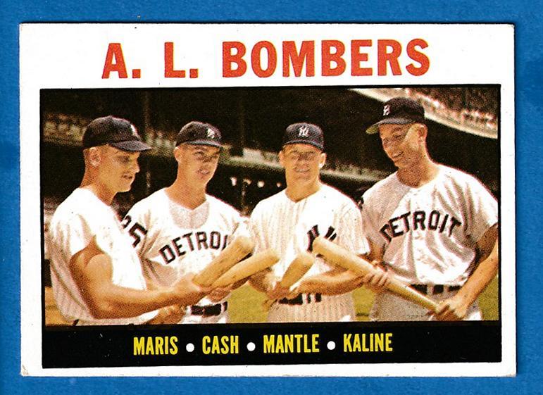 1964 Topps 331 Al Bombers R Roger Marismickey Mantleal
