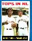 1964 Topps #423 'Tops in N.L.' [#r] (Hank Aaron/Willie Mays) (Braves/Giants