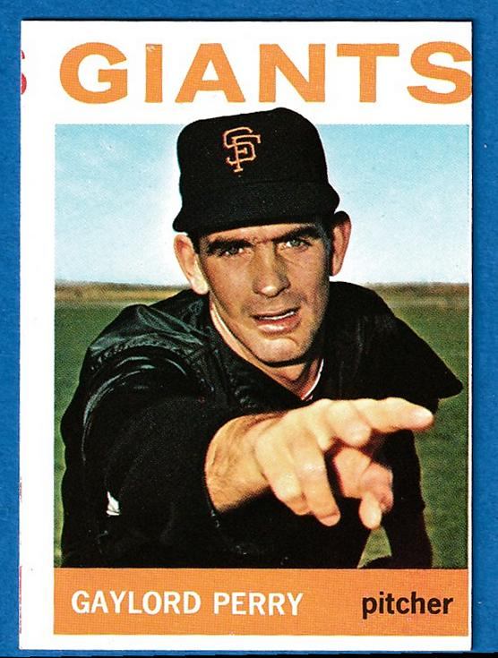 1964 Topps #468 Gaylord Perry [#r] (Giants) Baseball cards value