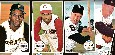 1964 Topps Giants  - Starter Set/Lot (24) diff. w/(6) Hall-of-Famers+BONUS
