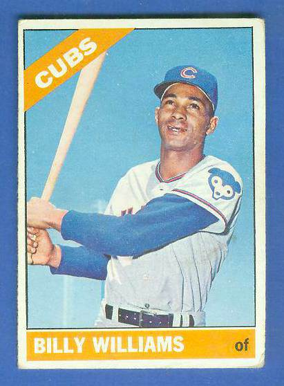 1966 Topps #580 Billy Williams SCARCE SHORT PRINT HI# [#sc] (Cubs) Baseball cards value
