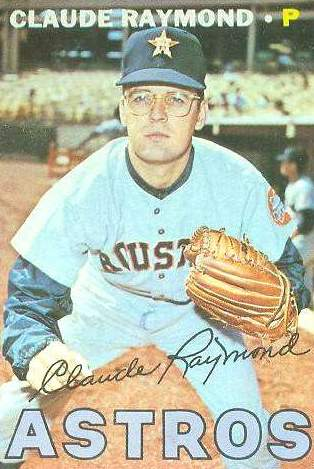 1967 Topps #364 Claude Raymond (Astros) Baseball cards value