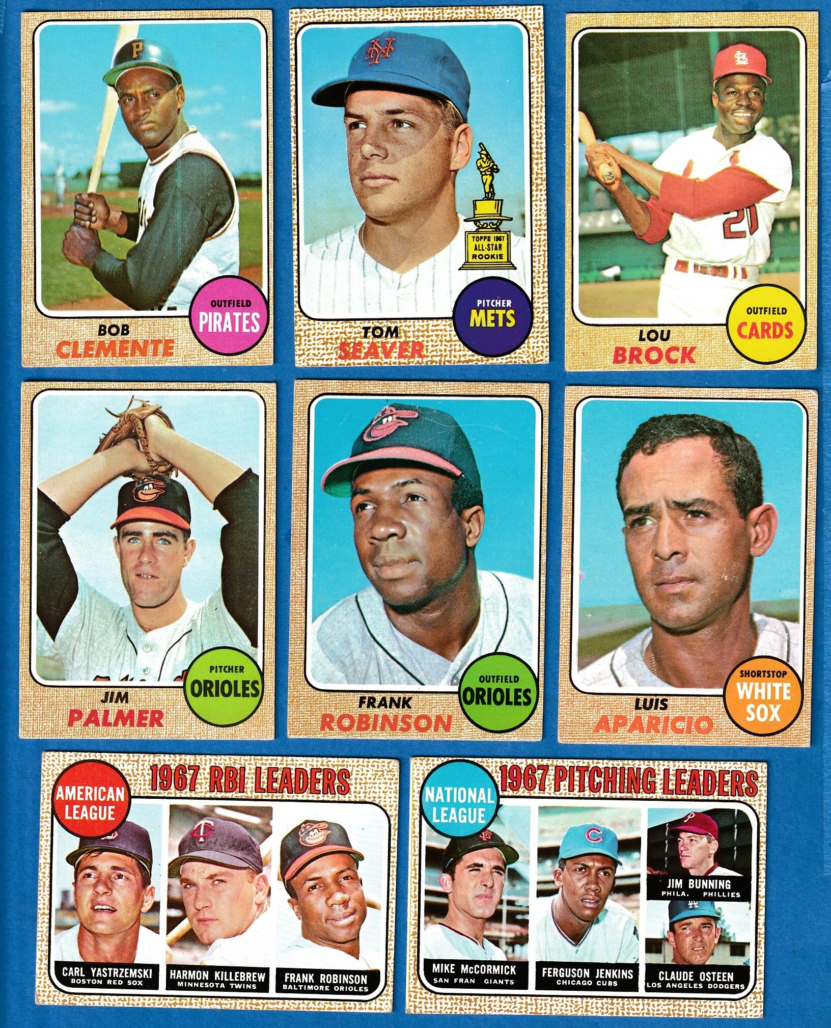 1968 Topps Baseball Cards Set Checklist Prices Values Information