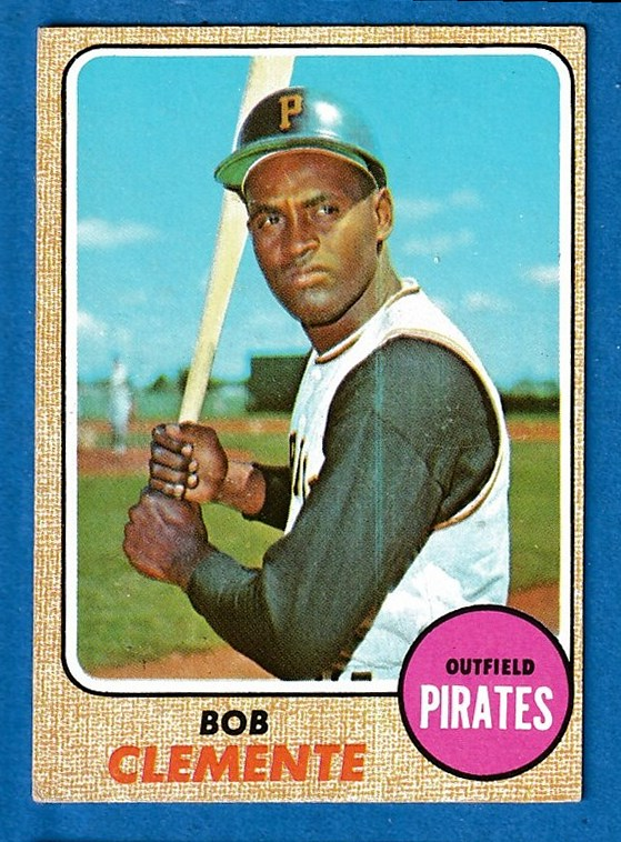 1968 Topps #150 Roberto Clemente [#a] (Pirates) Baseball cards value