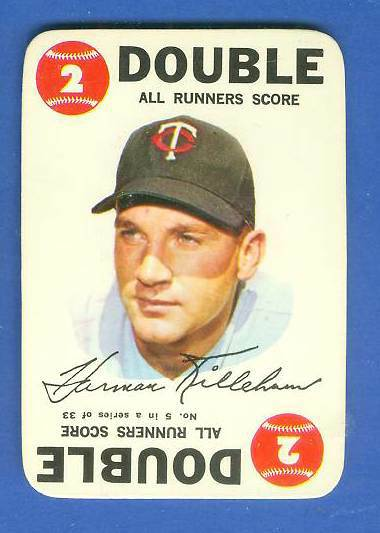 1968 Topps GAME # 5 Harmon Killebrew (Twins) Baseball cards value