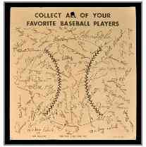 1968 Baseball Marbles