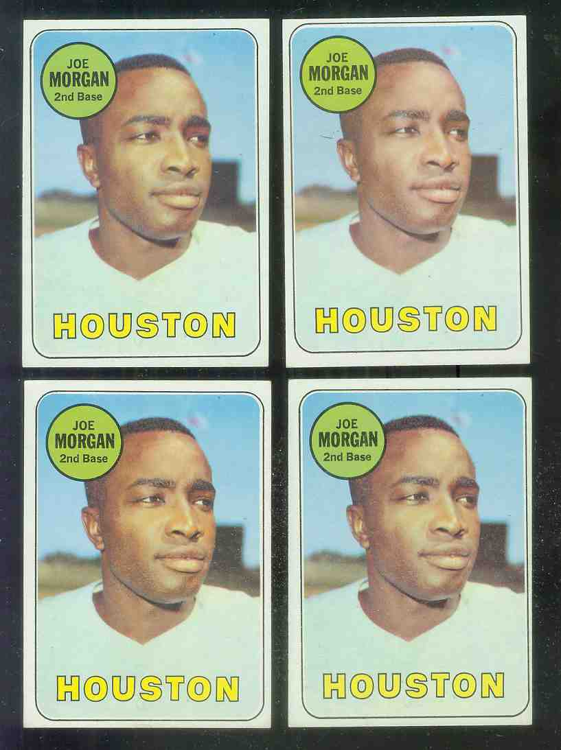 1969 Topps #.35 Joe Morgan [#a] (Astros) Baseball cards value
