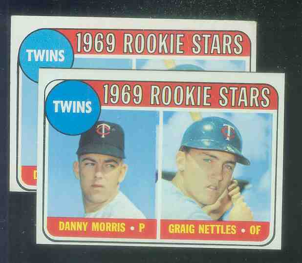 1969 Topps #.99-B Graig Nettles ROOKIE 'Loop variation' (Twins) Baseball cards value