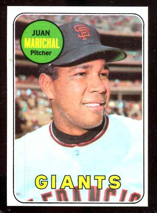 1969 Topps #370 Juan Marichal [#a] (Giants) Baseball cards value