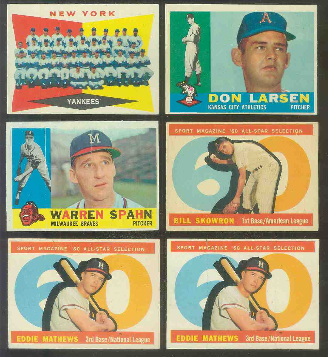 1960 Topps #164 Reds TEAM card (Checklist on back) Baseball cards value