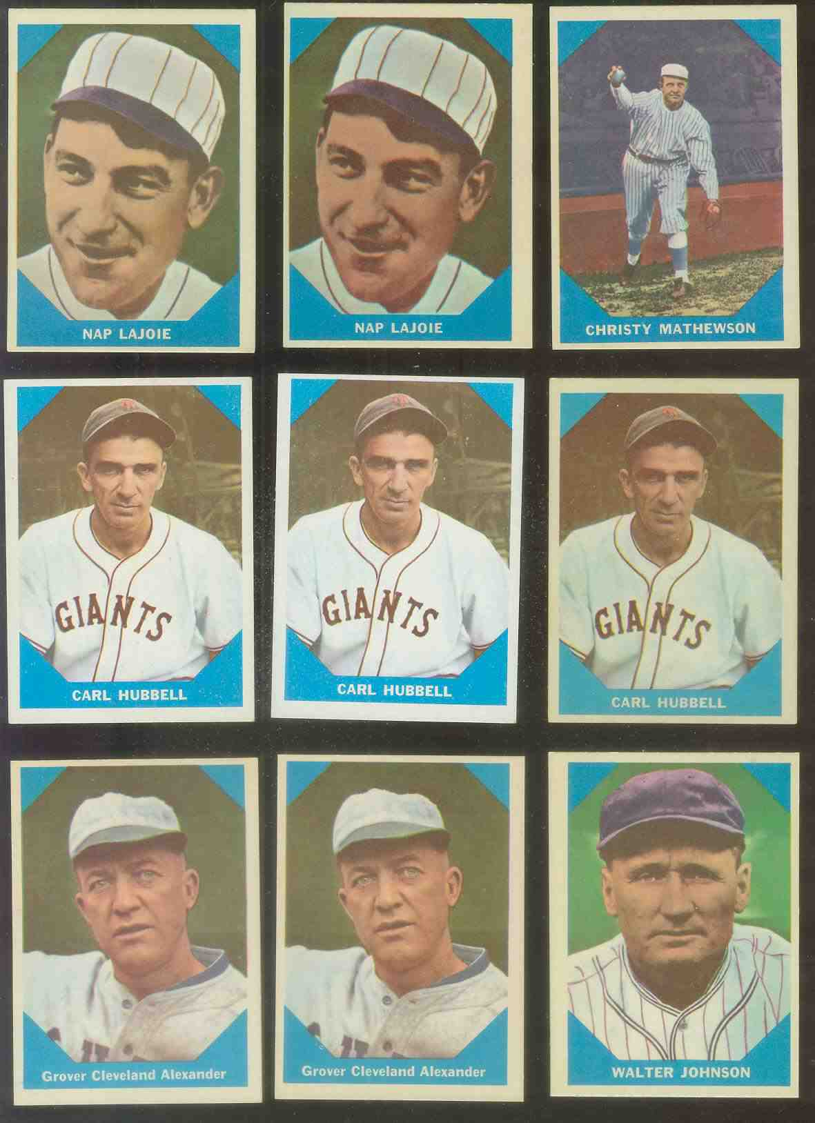 1960 Fleer #..1 Napoleon Lajoie (Philadelphia A's) Baseball cards value