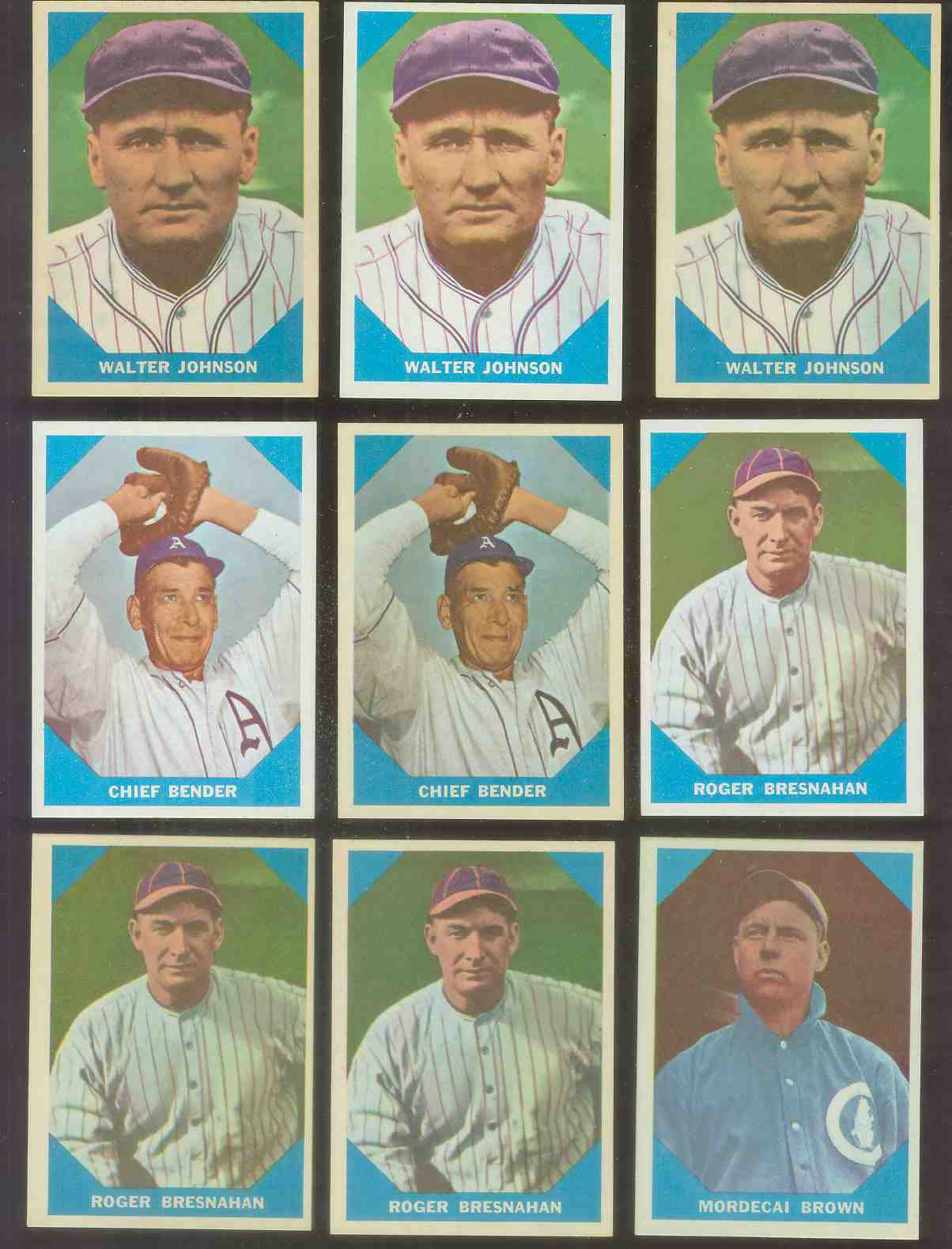 1960 Fleer #..9 Mordecai 'Three-Finger' Brown (Cubs) Baseball cards value