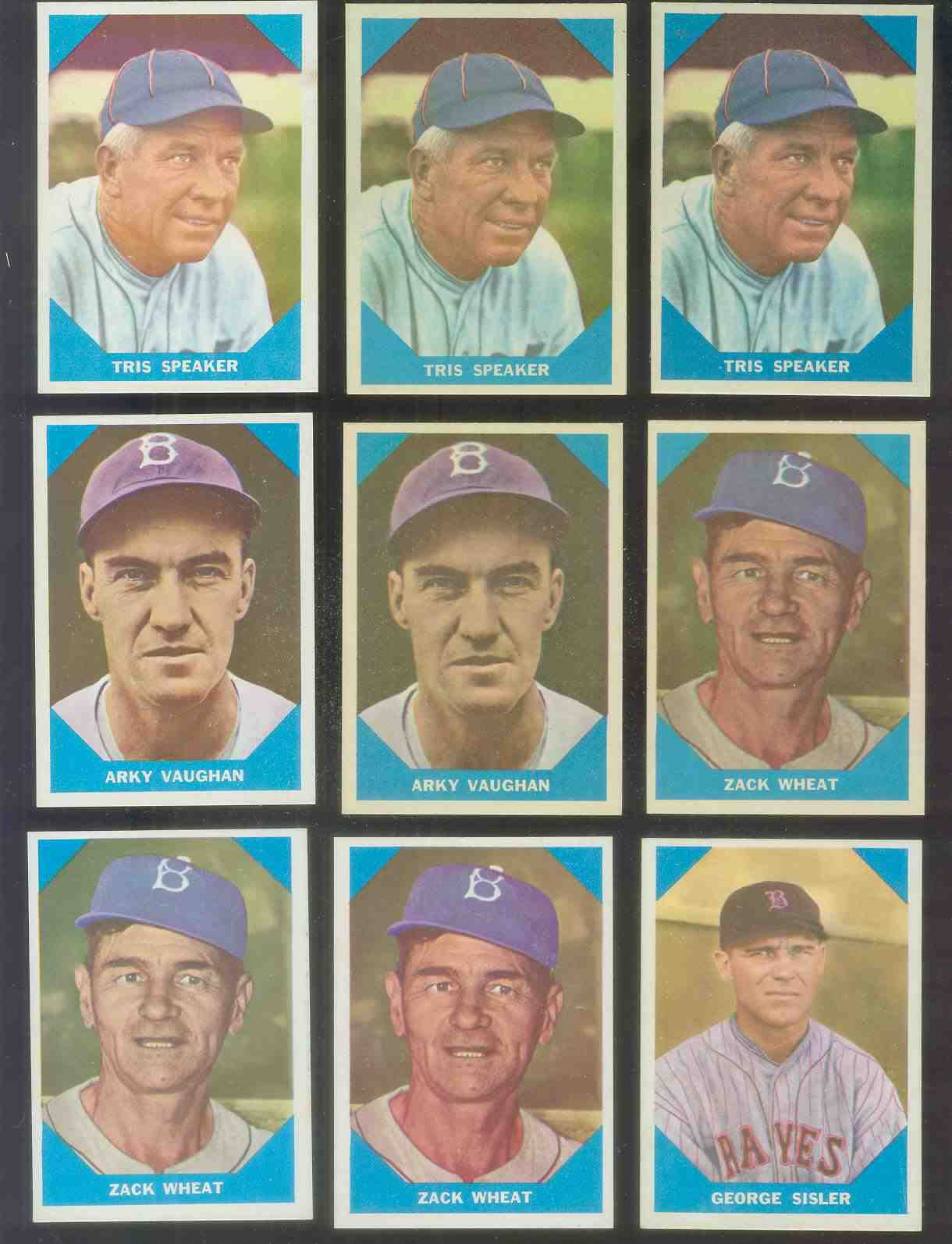 1960 Fleer #.13 George Sisler (Boston Braves) Baseball cards value