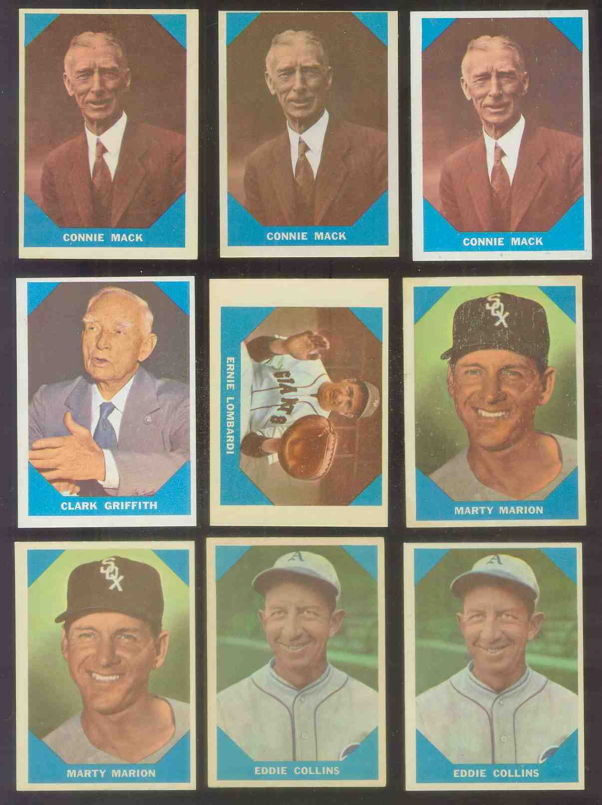 1960 Fleer #.14 Connie Mack Baseball cards value