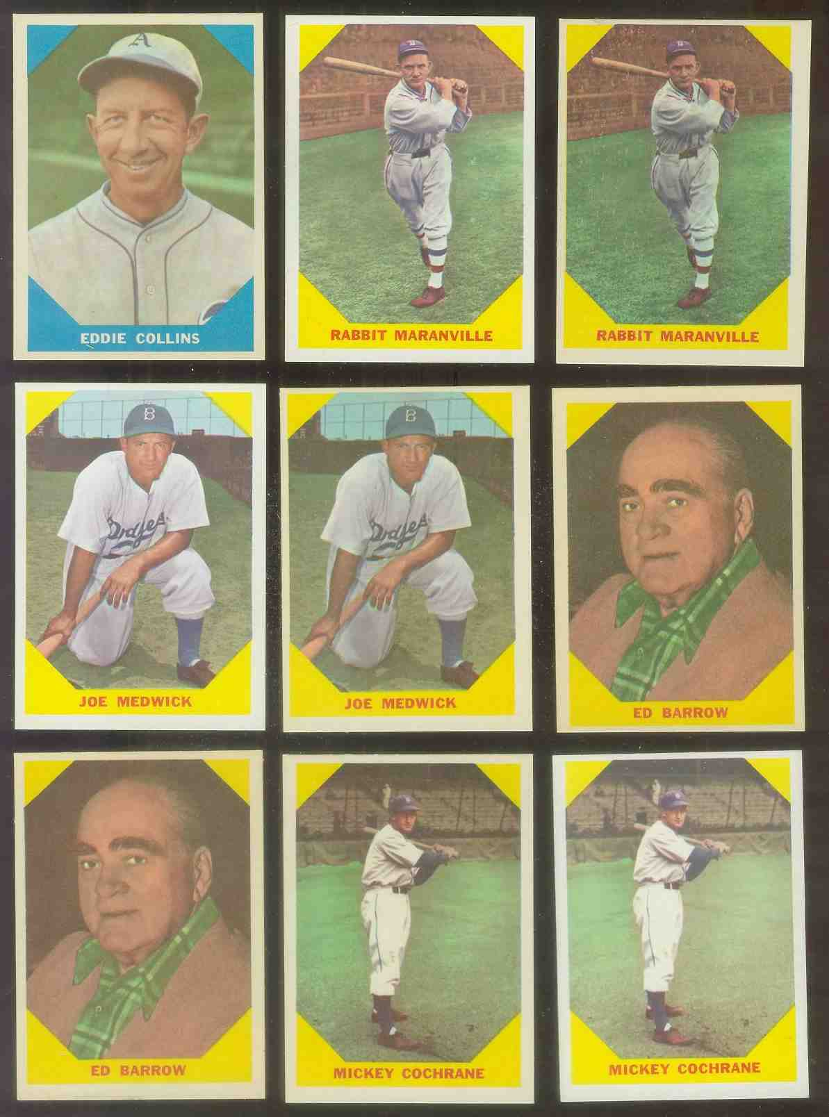 1960 Fleer #.22 Joe 'Ducky' Medwick (Brooklyn Dodgers) Baseball cards value