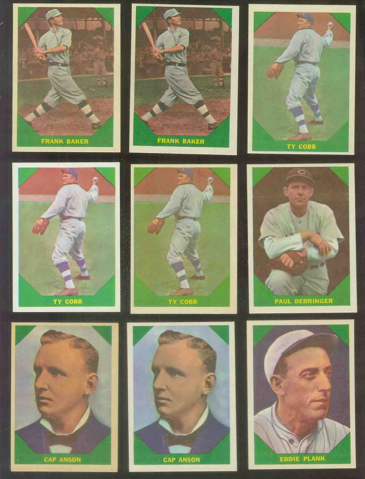 1960 Fleer #.42 Ty Cobb (Tigers) Baseball cards value