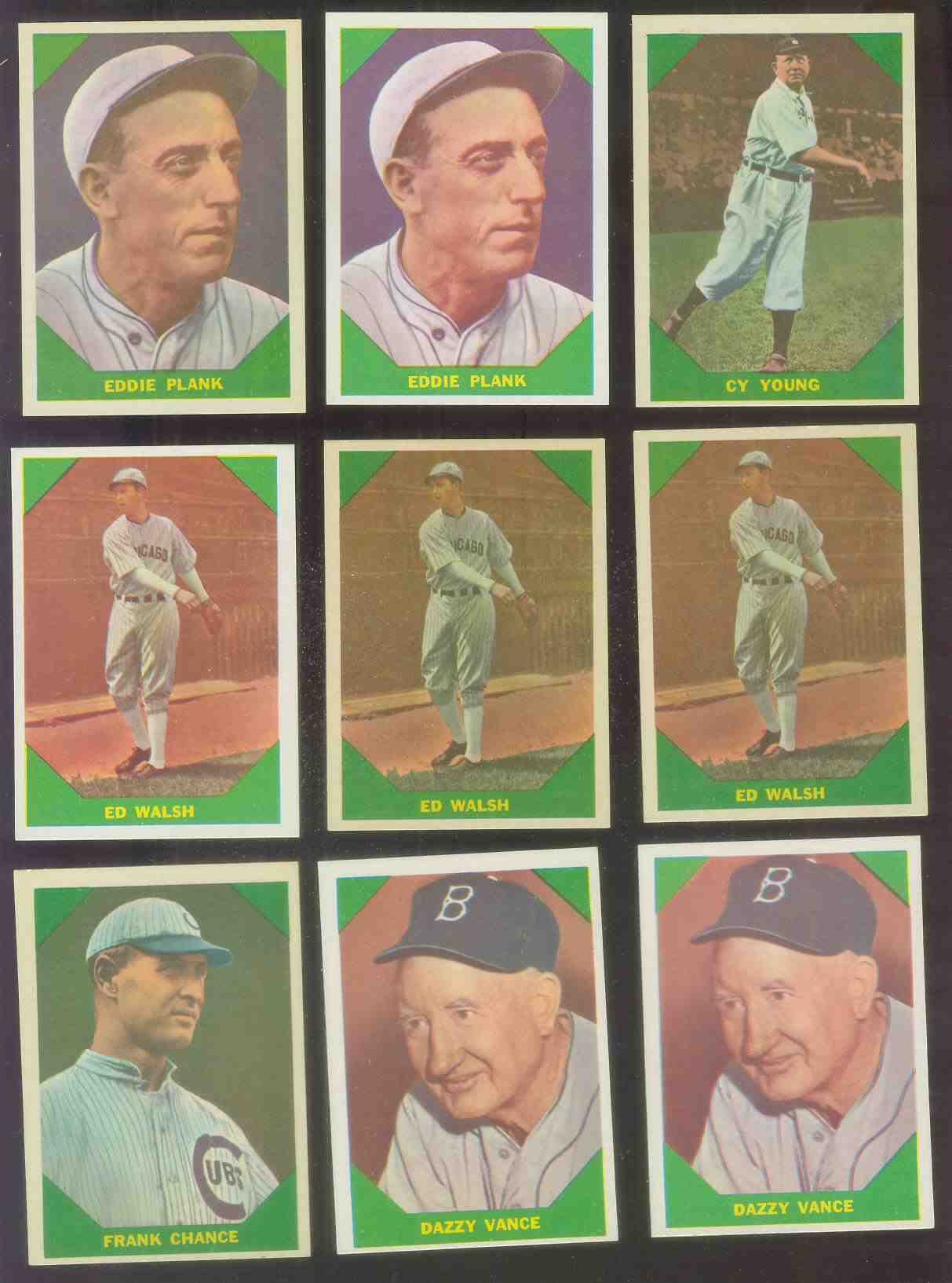 1960 Fleer #.49 Ed Walsh (White Sox) Baseball cards value