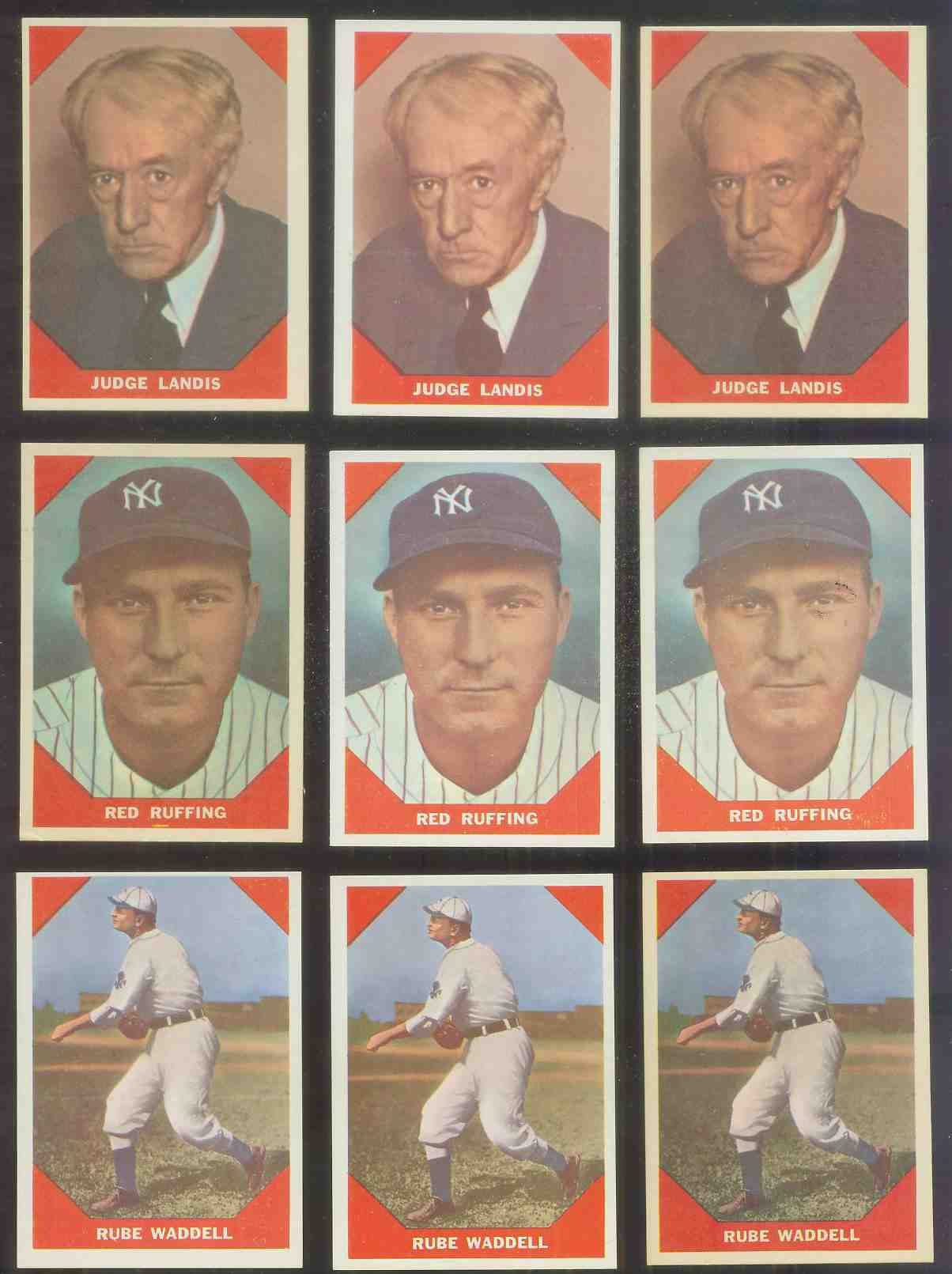 1960 Fleer #.64 Kenesaw M. Landis Baseball cards value