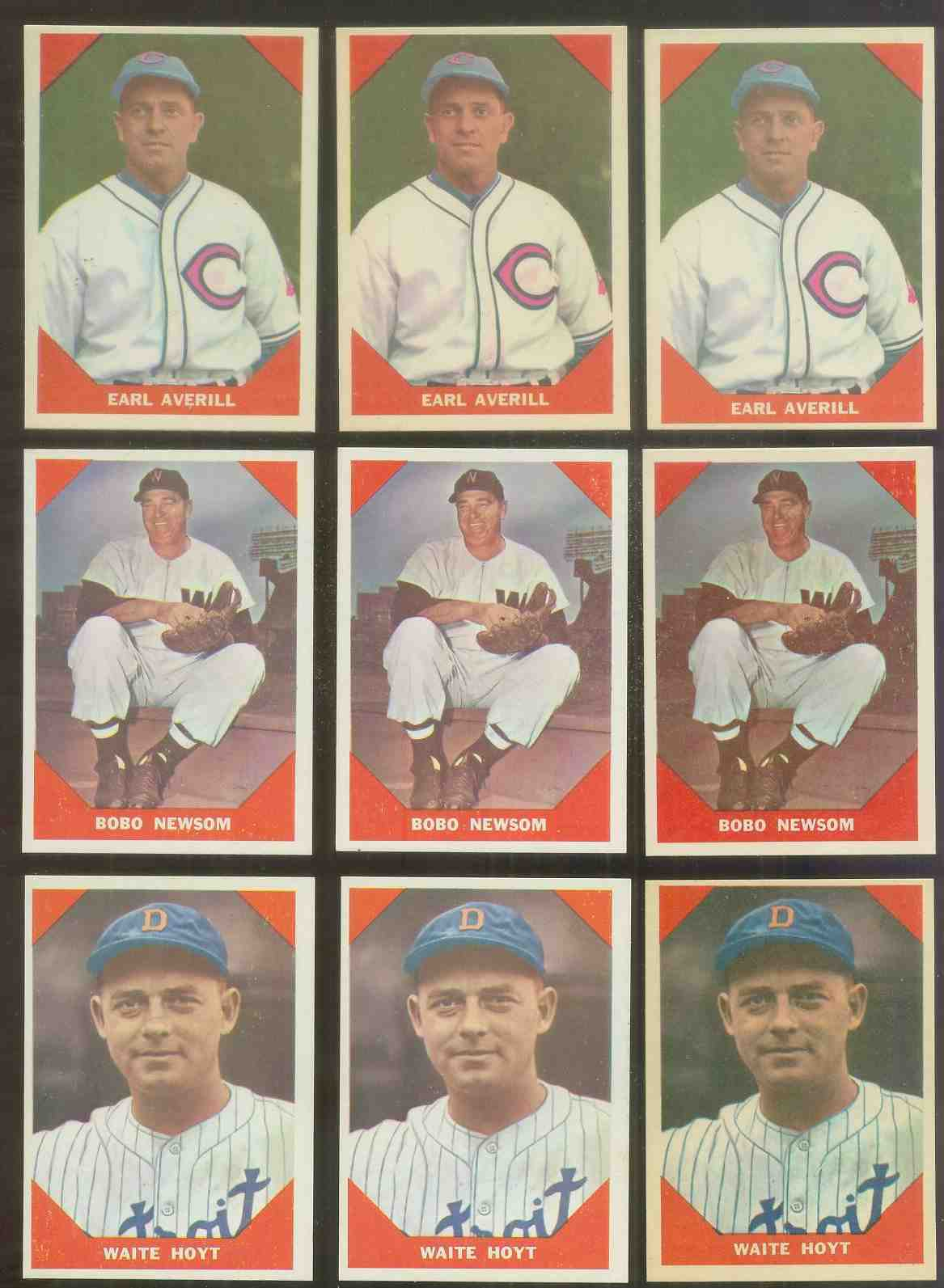 1960 Fleer #.71 Earl Averill (Indians) Baseball cards value