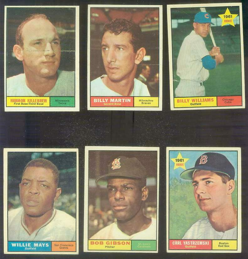1961 Topps #.89 Billy Martin [#x] (Braves) Baseball cards value