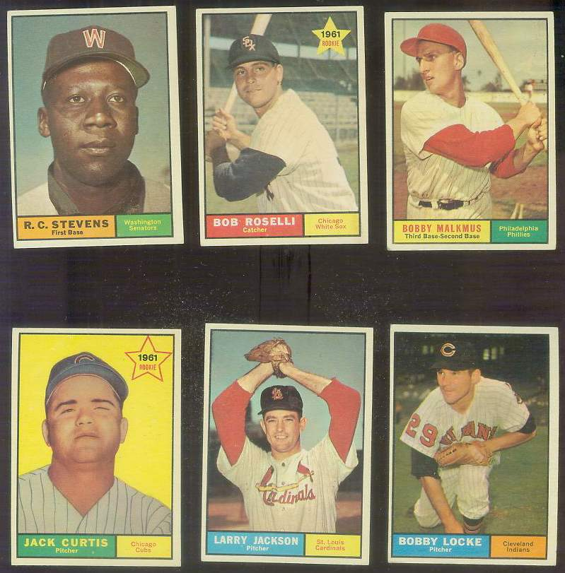 1961 Topps #535 Larry Jackson SCARCE HIGH #.[#x] Baseball cards value