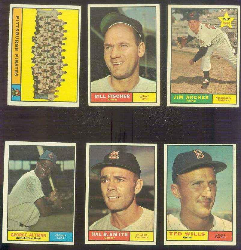 1961 Topps #549 Hal R. Smith SCARCE HIGH #.[#x] Baseball cards value