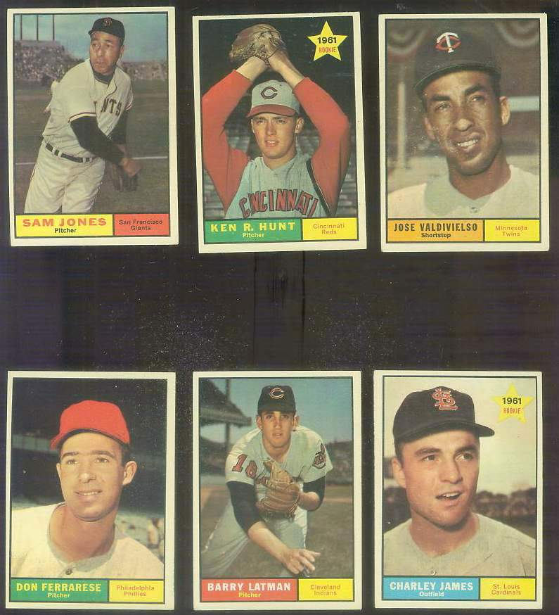 1961 Topps #556 Ken R. Hunt SCARCE HIGH #.[#x] Baseball cards value