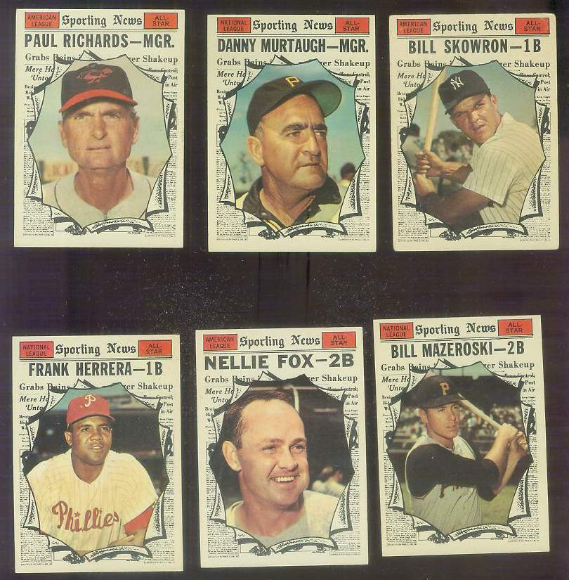 1961 Topps #571 Bill Mazeroski All-Star SCARCE HIGH # (Pirates) Baseball cards value