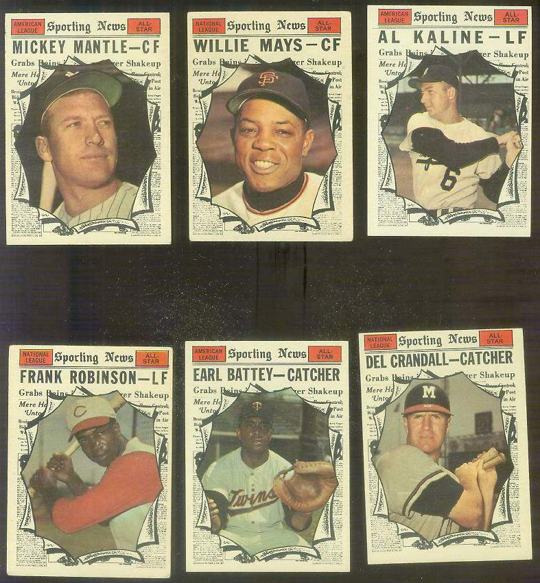 1961 Topps #579 Willie Mays All-Star SCARCE HIGH #.[#x] Baseball cards value