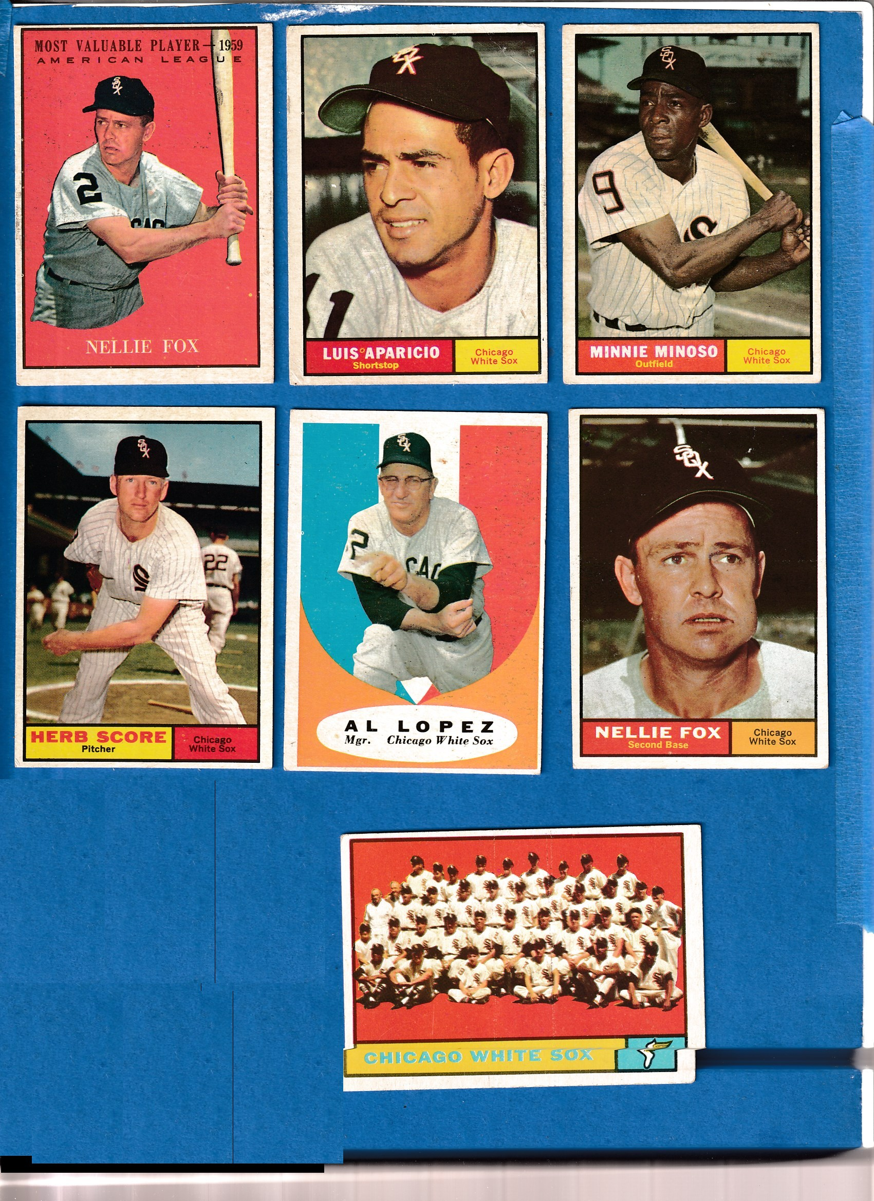 1961 Topps  - WHITE SOX Near Complete LOW# TEAM SET (27/28 cards + 1) Baseball cards value