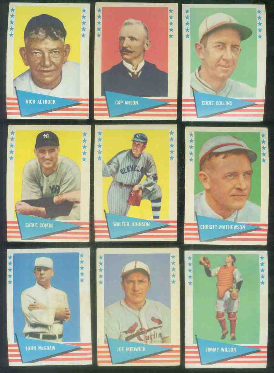 1961 Fleer #.59 Christy Mathewson [#x] (New York Giants) Baseball cards value
